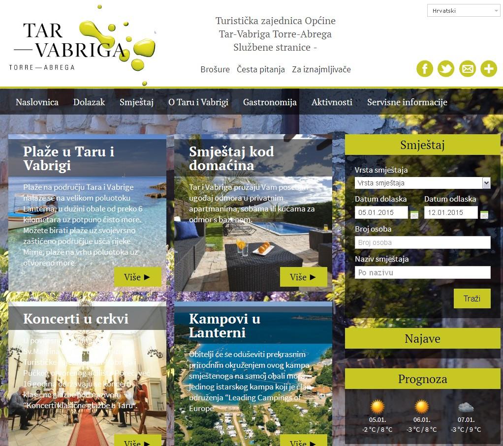 Turistikča zajednica Tar