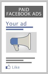 Plaćene oglase na Facebooku vidi svaki ciljani korisnik kojeg želimo privući kao fana.